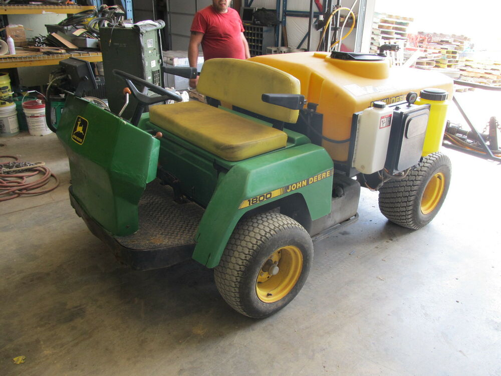 John Deere Pro Gator 1800 : John deere pro gator utility truck with model no