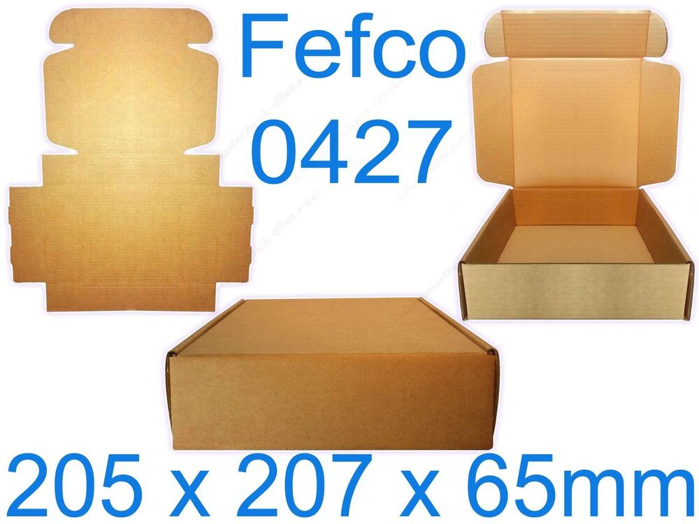 stabile geschenk schachtel versand falt karton verpackung box kiste fefco 0427 ebay. Black Bedroom Furniture Sets. Home Design Ideas