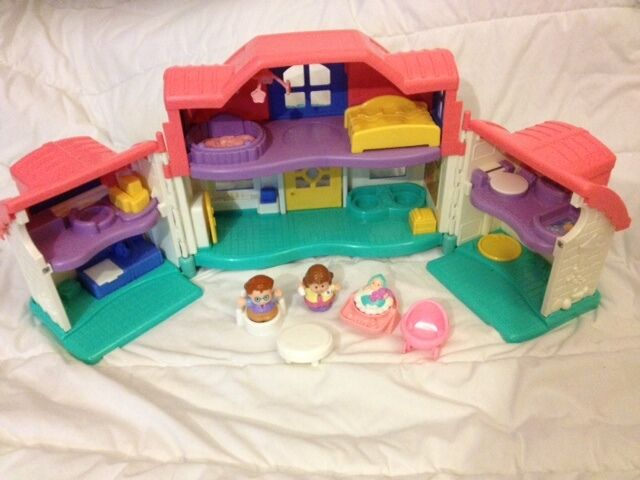 Fisher Price Little People Sweet Sounds Home Doll house | eBay