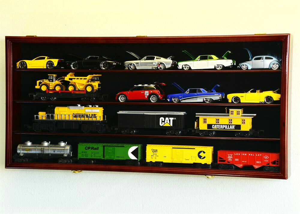 Toy Car Case : Scale diecast model car display case rack holder