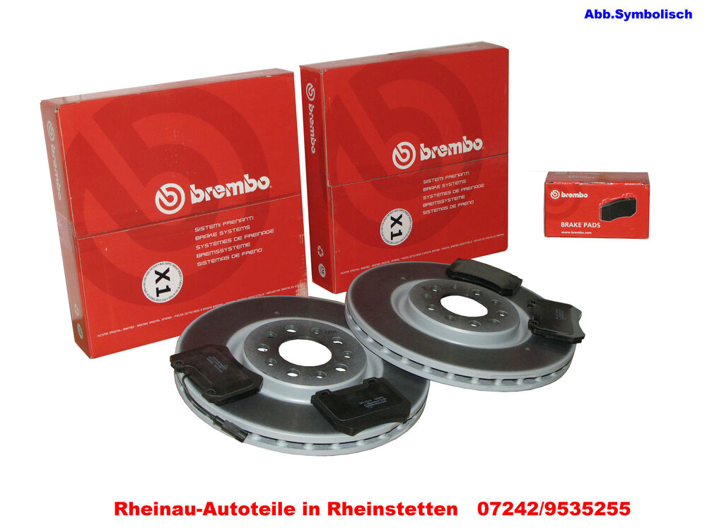 brembo coated disc line 2 x bremsscheiben 298mm ha bmw 5. Black Bedroom Furniture Sets. Home Design Ideas