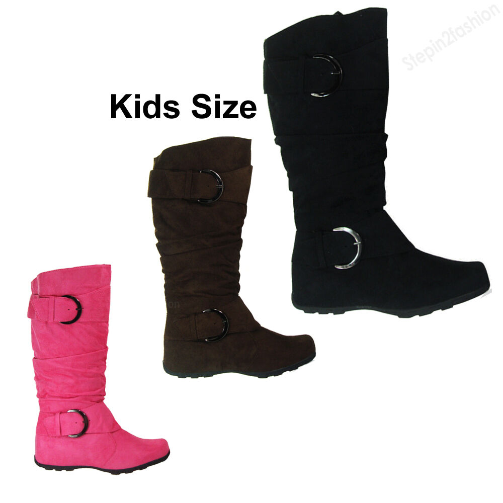 Find knee high boots for kids at ShopStyle. Shop the latest collection of knee high boots for kids from the most popular stores - all in one place.