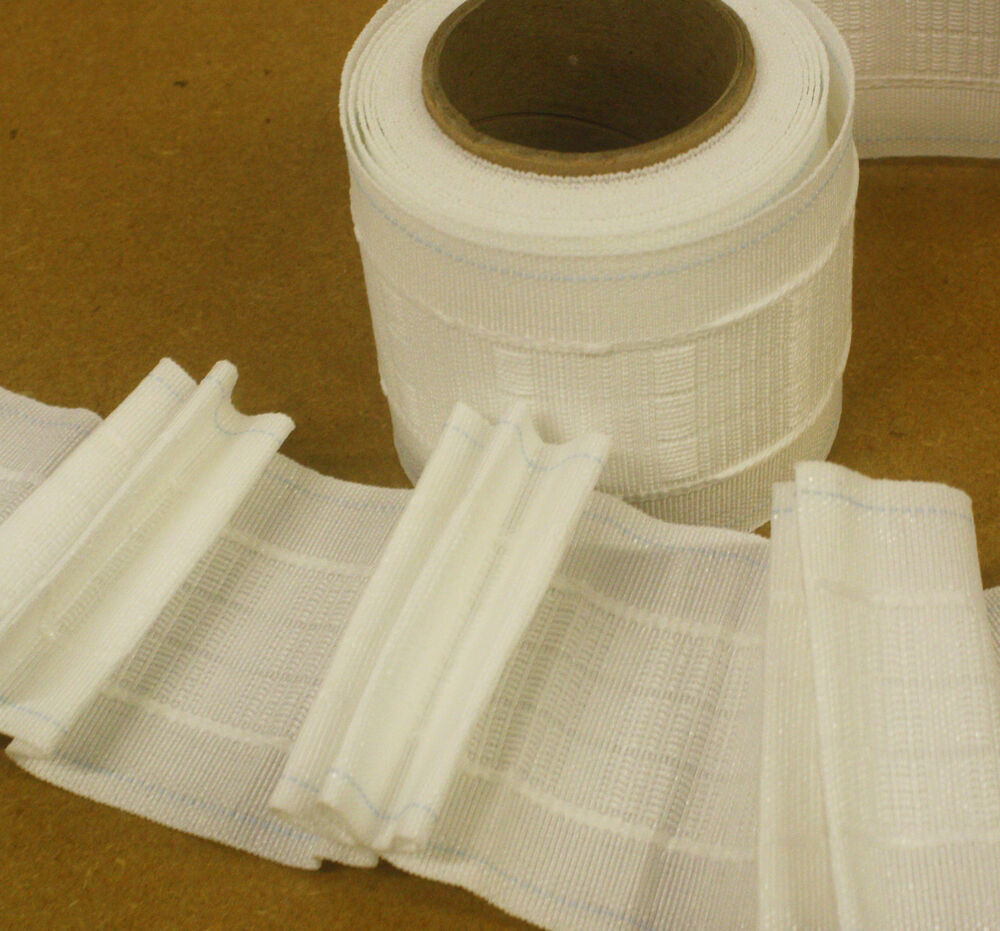 Curtain pleating tape