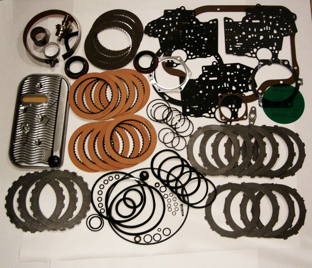 Th400 Rebuild Kit W Band Filter Frictions Steels 1967 98