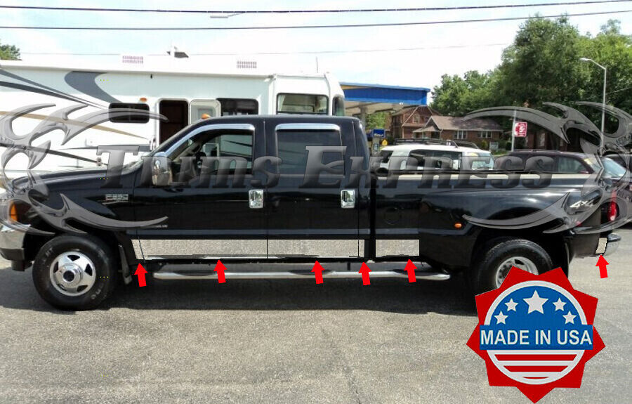 1999 2010 Ford F 250 350 Superduty Crew Cab Dually 12pc 8