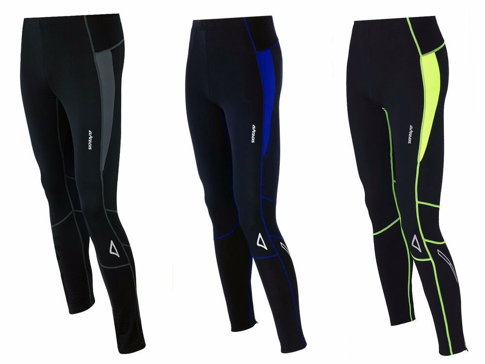 AIRTRACKS Winter Laufhose Lang Pro T / Thermo