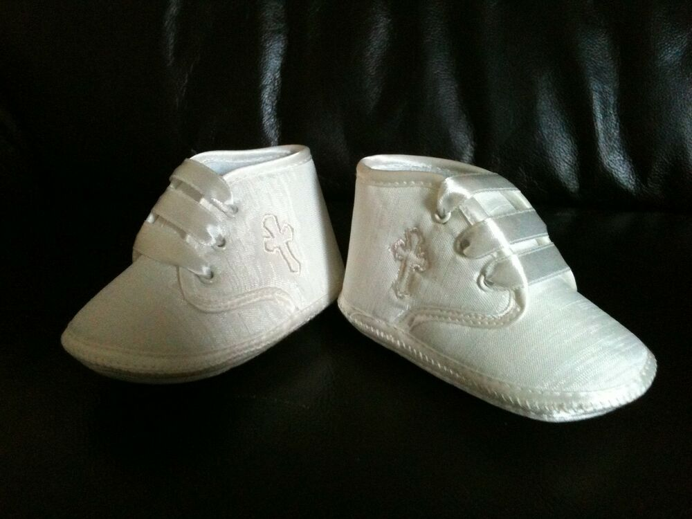 New Baby Boy Christening Baptism Pram Shoes Boot Booties