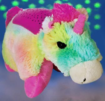 Bright Light Animal Pillow Pets : Dream Lites Pillow Pets Rainbow Unicorn Night Light As Seen On TV Stuffed Animal eBay