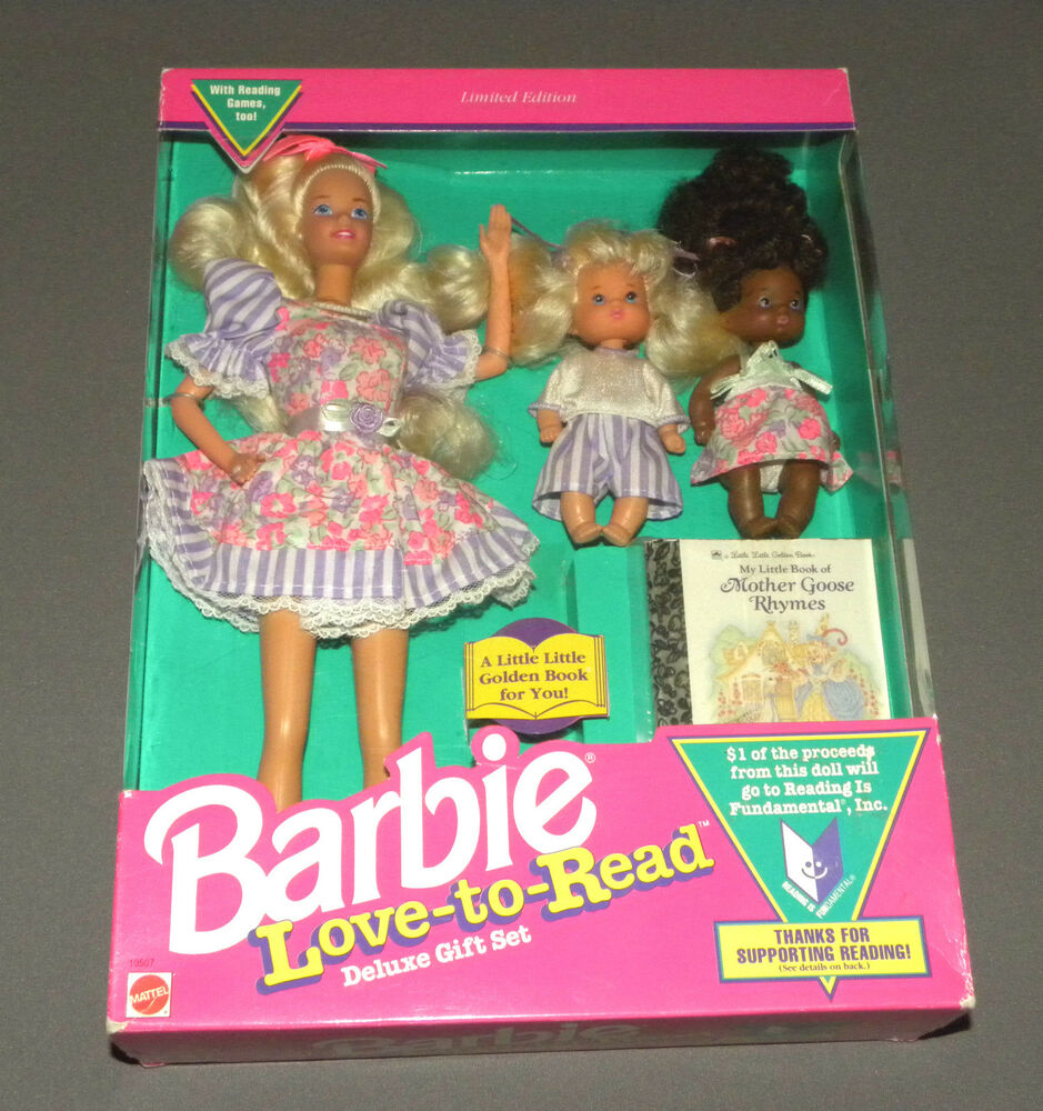 Vintage love to read barbie doll limited edition
