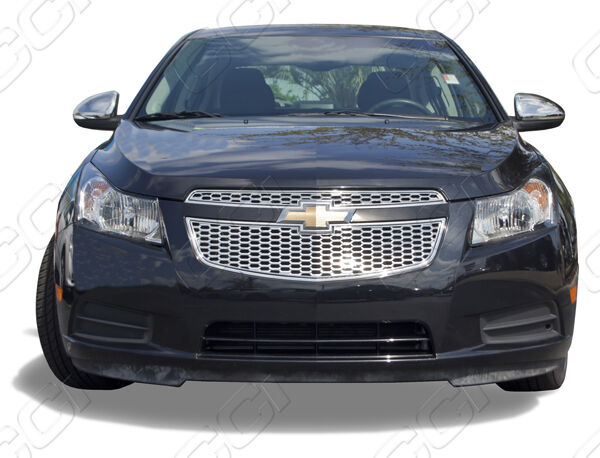 2011 2012 2013 chevrolet chevy cruze ls lt ltz chrome abs overlay grille grill ebay. Black Bedroom Furniture Sets. Home Design Ideas