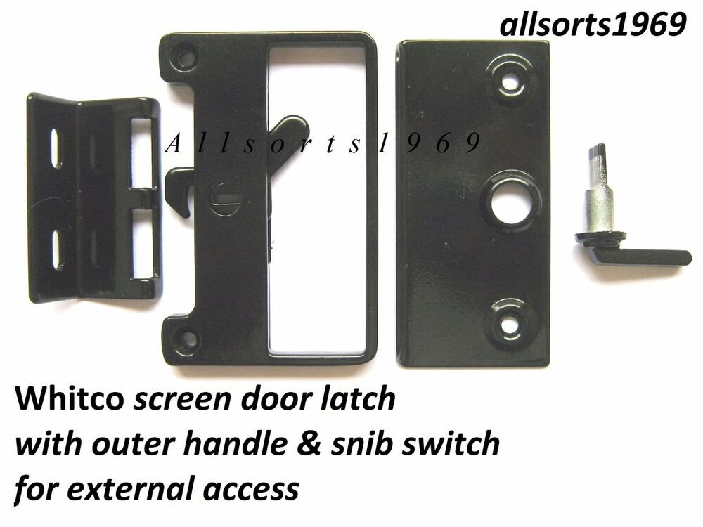 Sliding Screen Door Lock Bass Latch Amp Catch With Outer