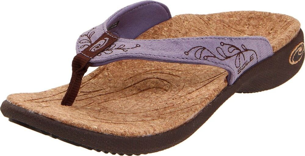 sole casual flip flops womens shoes sandals arch support
