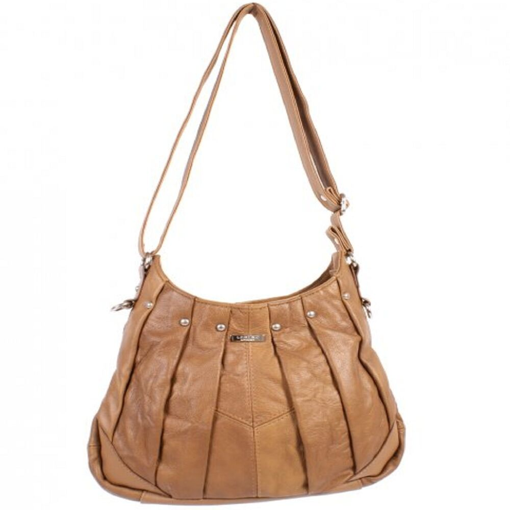 NEW GENUINE REAL LEATHER WOMENS TOTE SHOULDER BAG