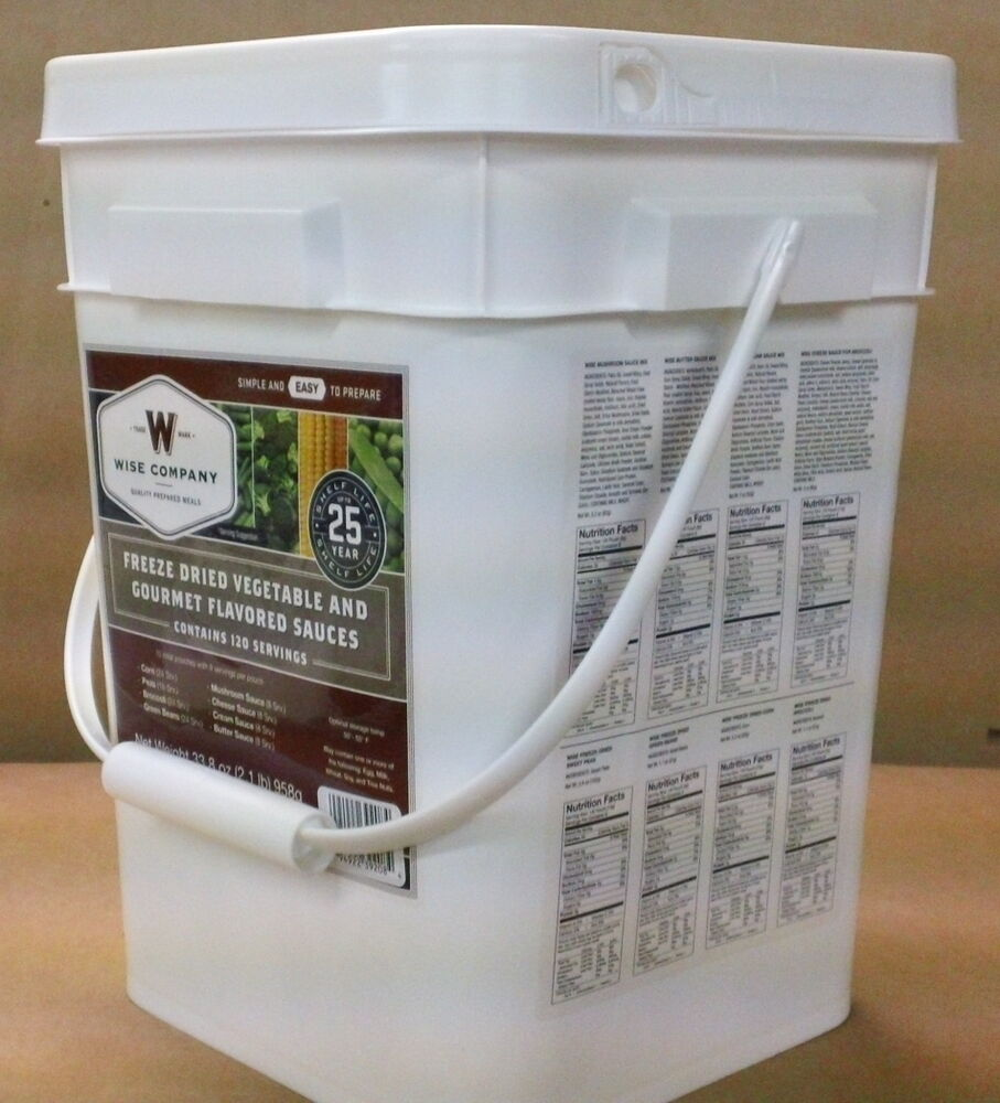 120 Serving Wise Emergency Survival Freeze Dried Food