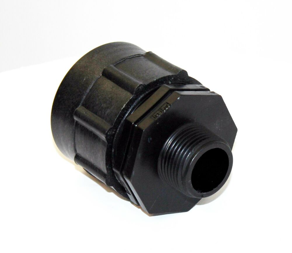 Ibc adapter fitting to quot bsp male thread reducer outlet