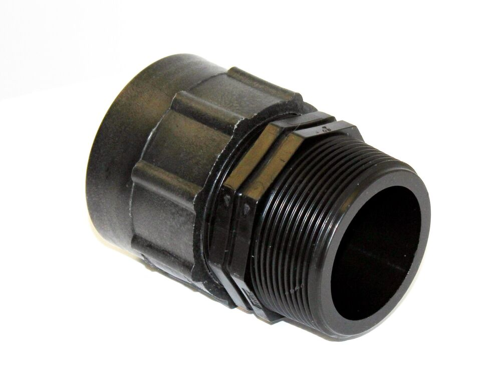 Ibc adapter fitting to quot bsp male thread reducer bio