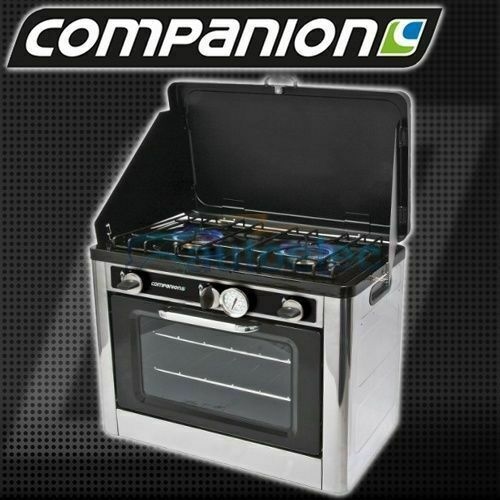 New Gas 2 Burner Stove Camping Oven Cooker Cooking