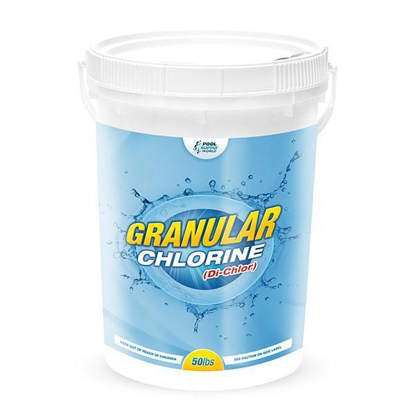 50 lbs granular chlorine sanitizer for swimming pool spa 99 sodium dichlor ebay. Black Bedroom Furniture Sets. Home Design Ideas