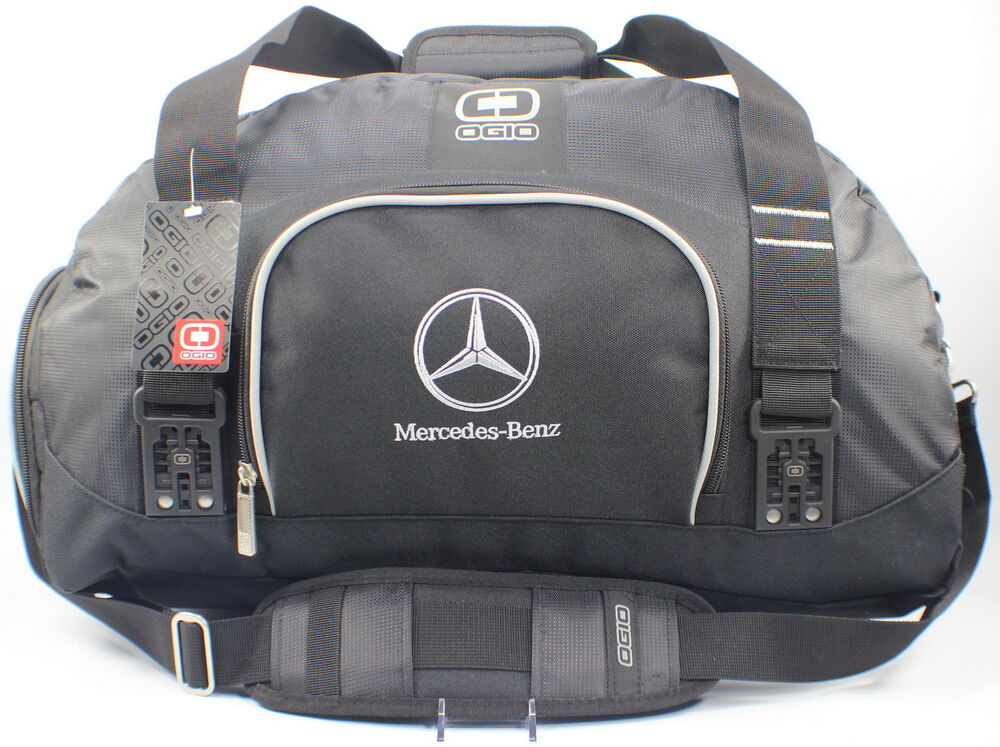Mercedes Benz Ogio Embroidered Large Duffel Bag The