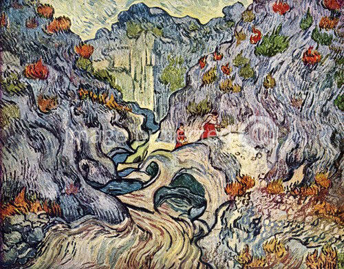 an interpretation of the ravine by vincent van gogh Van gogh's sunflowers poor vincent, said père tanguy from whom van gogh had bought his paints he never suggested that the sunflower had any religious meaning.