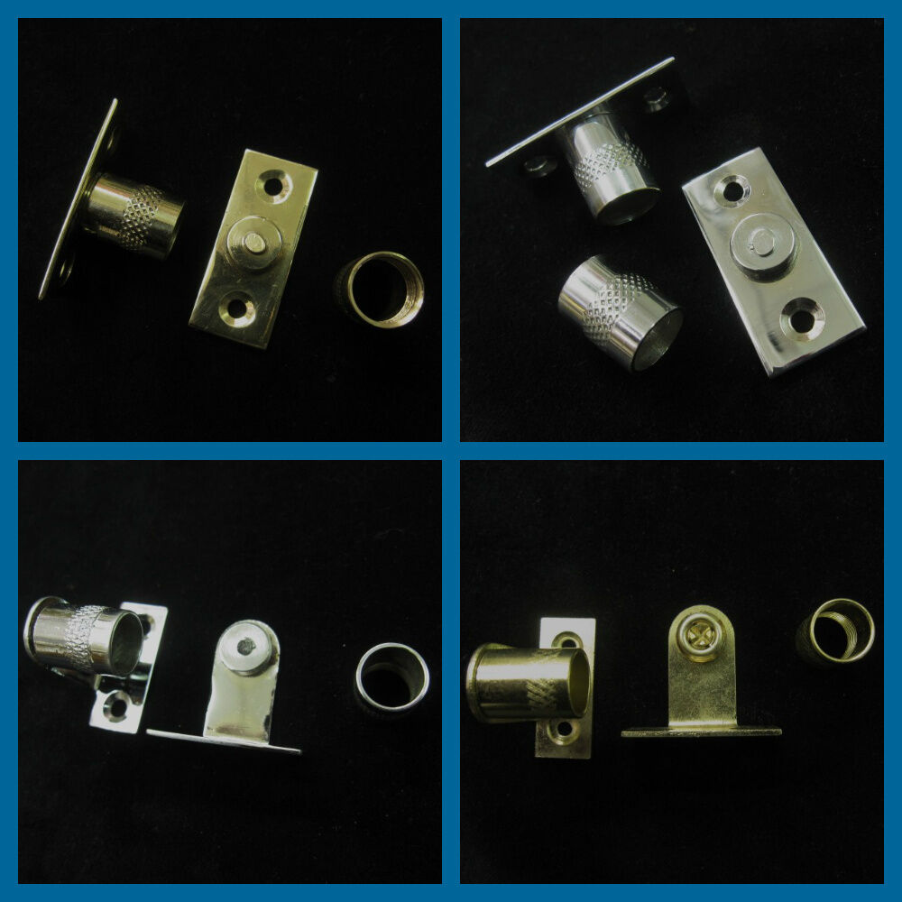 Curtain Rod Sockets Brackets For 12mm Diameter Net Rods