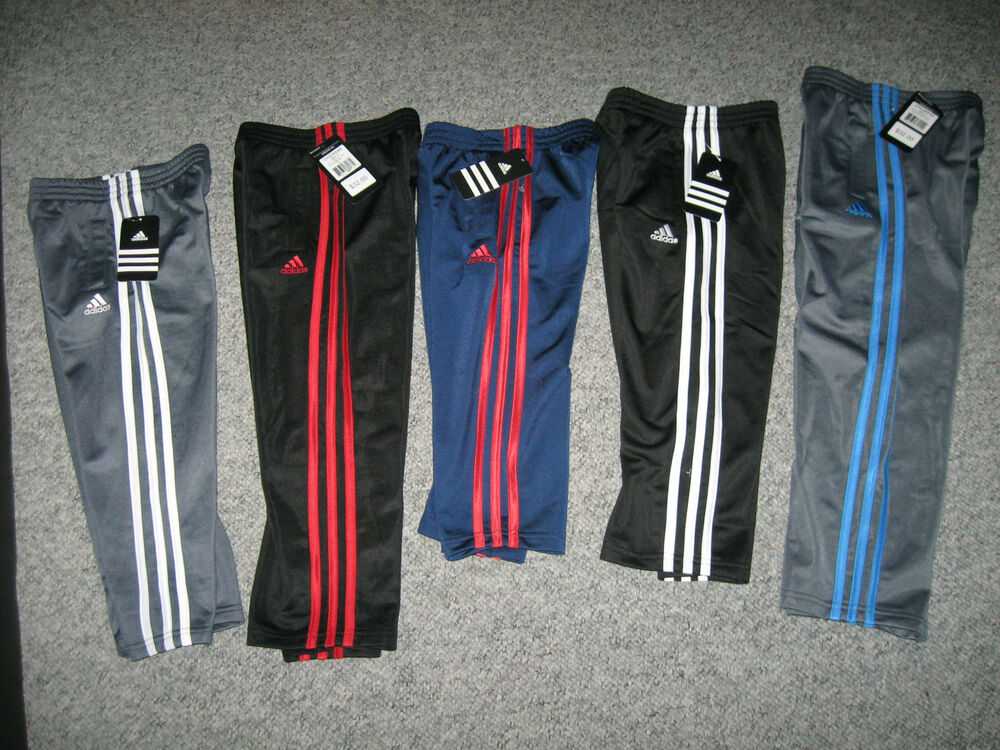 Adidas Boy S Warm Up Pants All Colors Amp Sizes 100