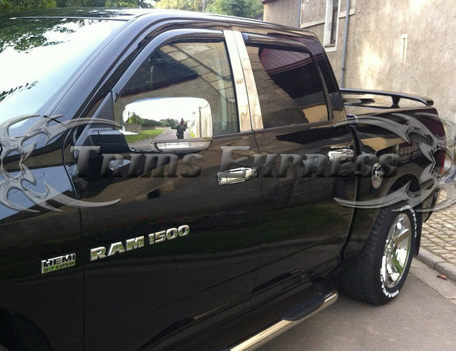 2009 2012 Dodge Ram 1500 2010 2012 Ram 2500 3500 Hd Chrome
