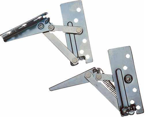 Hinged Door Lifts : Lift up flap hinges kitchen cabinet doors single right