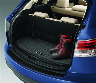 new genuine mazda cx9 carpeted cargo mat oe oem 0000 8k n01 ebay. Black Bedroom Furniture Sets. Home Design Ideas