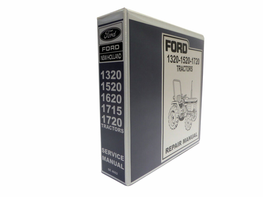 Ford 1715 tractor Owner S manual