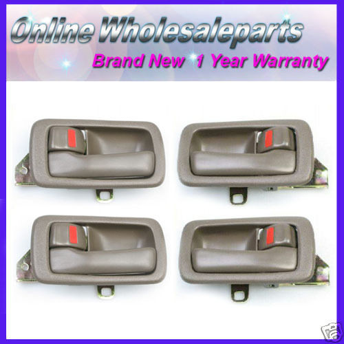 1992 1996 toyota camry 4 inside dh50 door handle set brown - 2002 toyota camry interior door handle ...