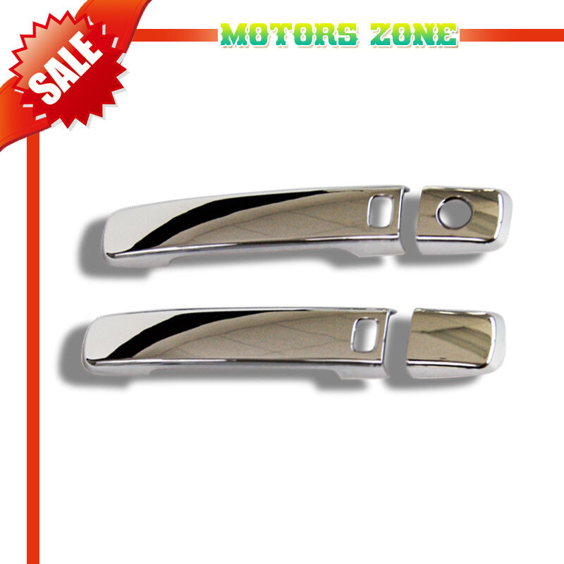Chrome Door Handle Cover W Smart Key Access Coupe For
