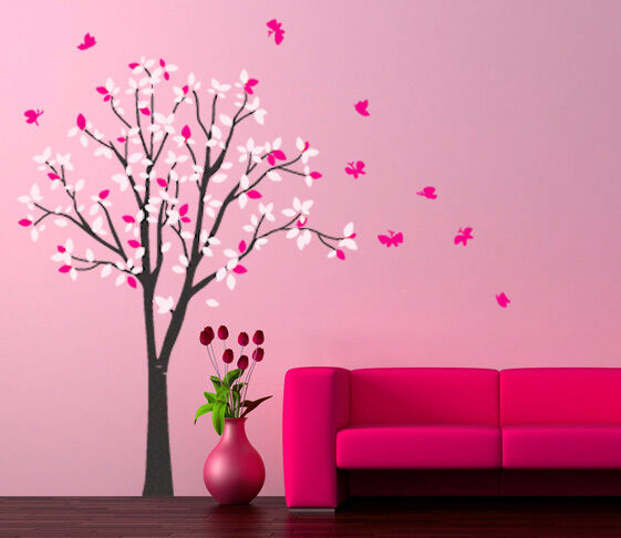 Wall Art Decor Vinyl Removable Decal Sticker Large Tree
