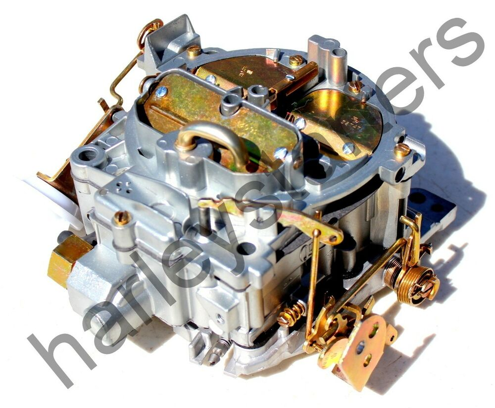 Rebuilt Marine Carburetor Quadrajet For V8 454 Engine Ebay