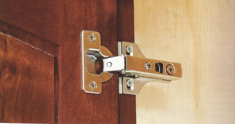 hidden hinges for kitchen cabinets 5 pair 10 hinges 1 2 quot overlay concealed cabinet 16289