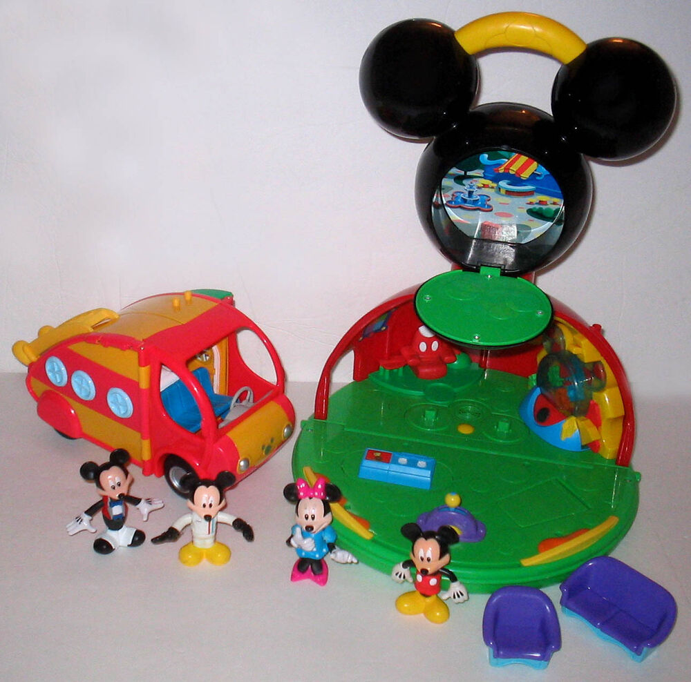 Talking Mickey Mouse Clubhouse & Camper | eBay