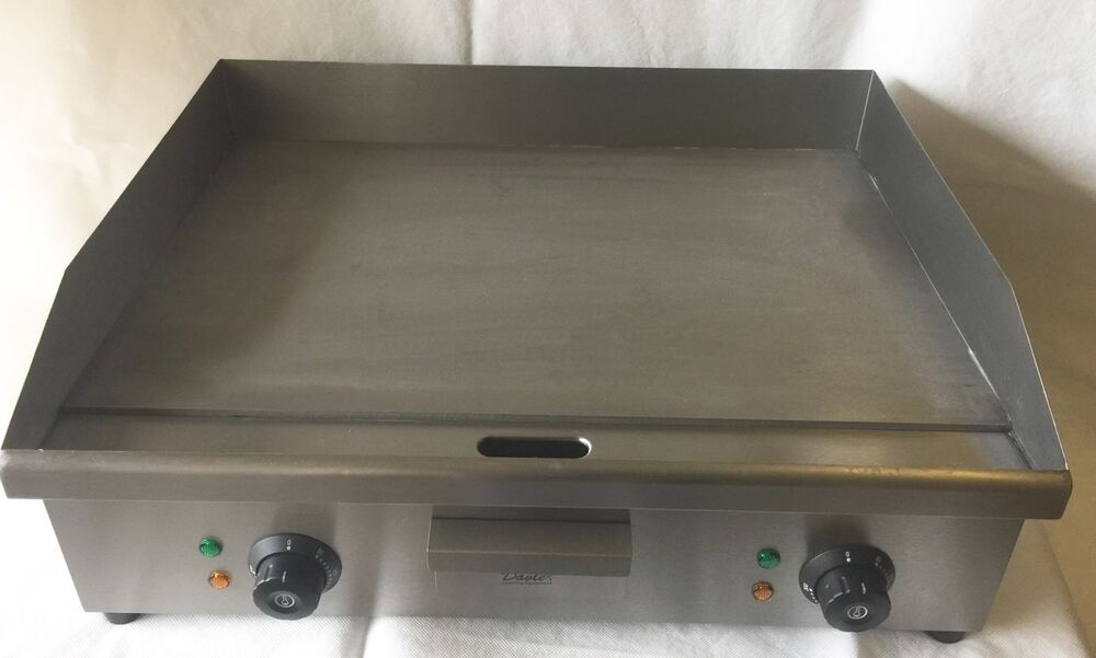 Large Electric Grill ~ Large electric flat griddle commercial hotplate double