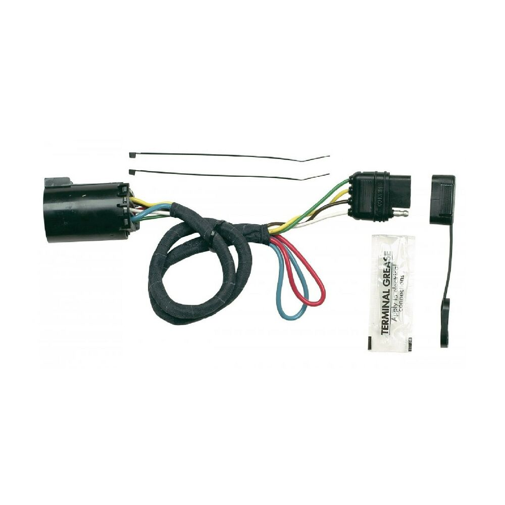 Hoppy plug in simple trailer hitch wiring kit for