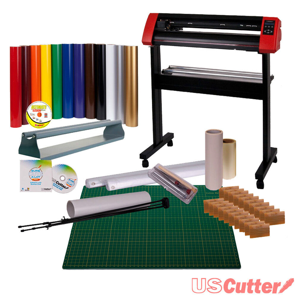Vinyl Cutter Bundle Sign Cutting Plotter W Sure Cuts A