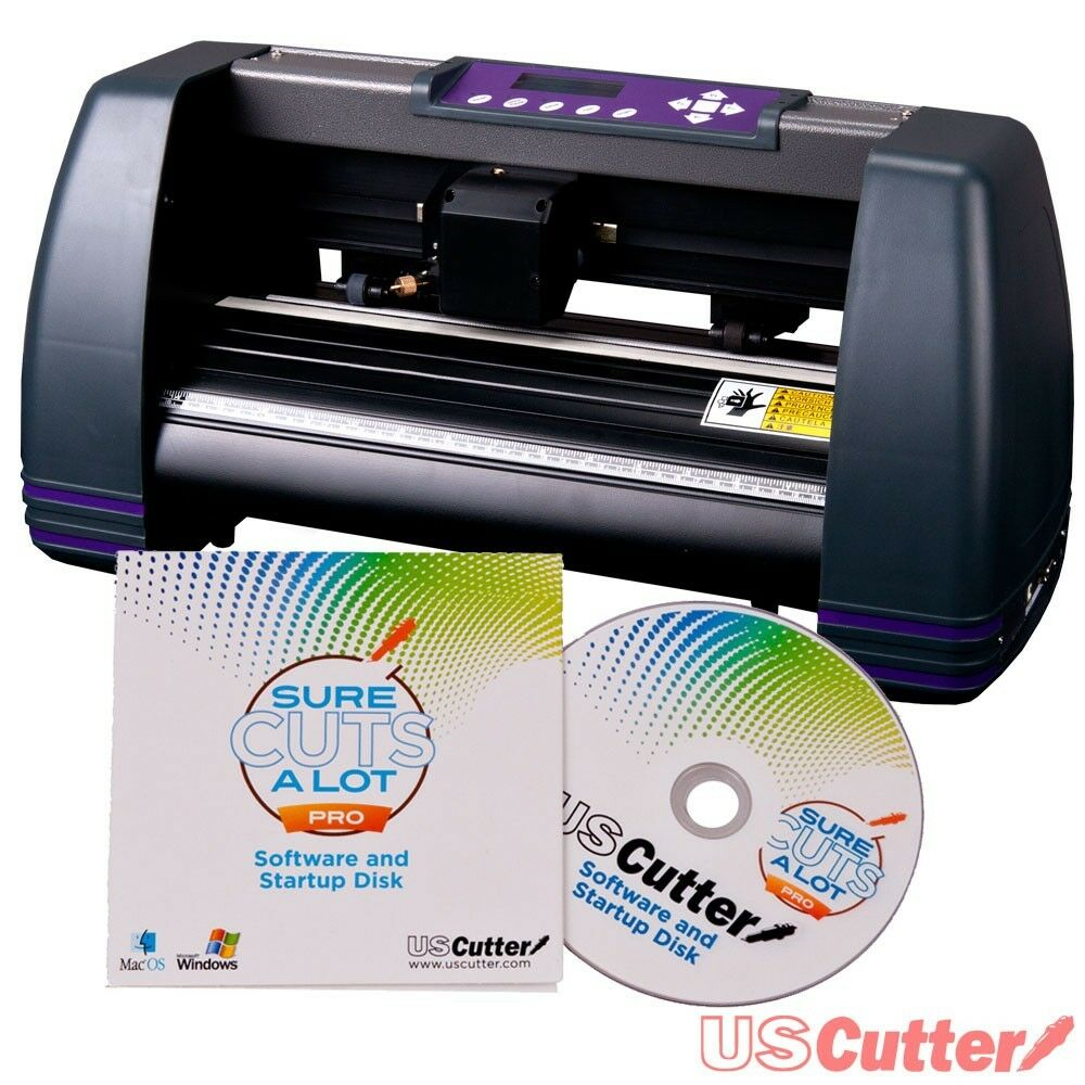 new 14 uscutter vinyl cutter cutting plotter desktop machine scal pro software ebay. Black Bedroom Furniture Sets. Home Design Ideas
