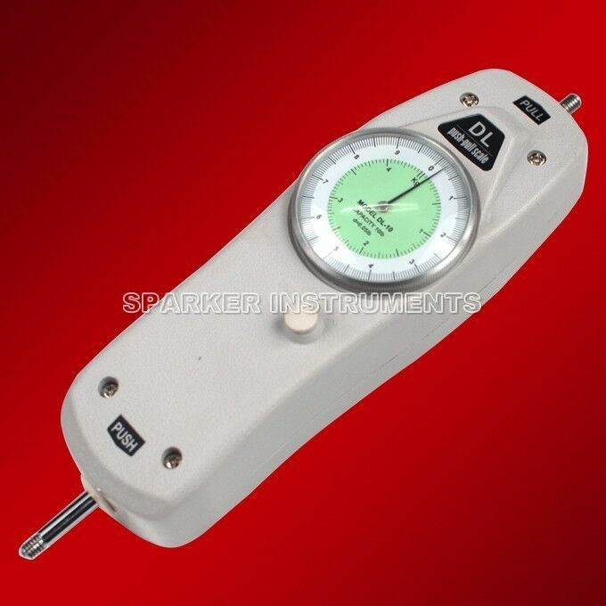 Push Pull Force Gauge : Dl ibs dial mechanical push pull gauge analog force