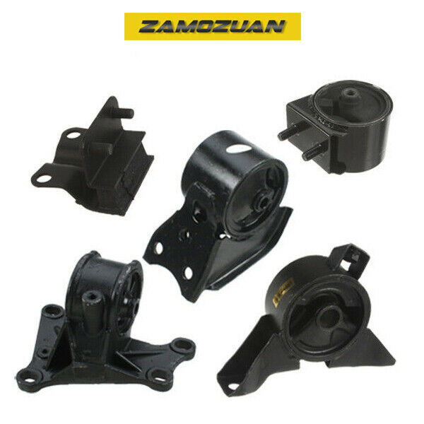 2001 2002 Mazda 626 2 0l Engine Trans Mount 5pcs For Auto