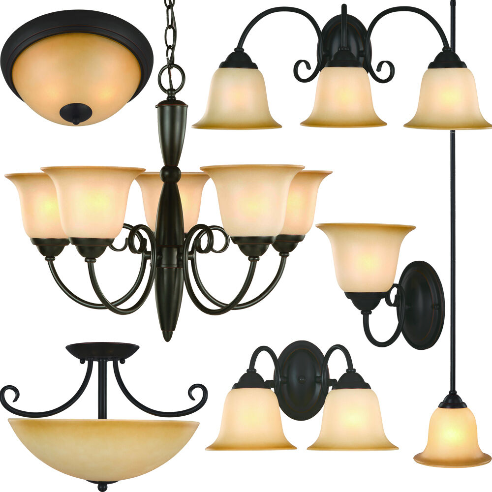 Oil Rubbed Bronze Bathroom Vanity Ceiling Lights
