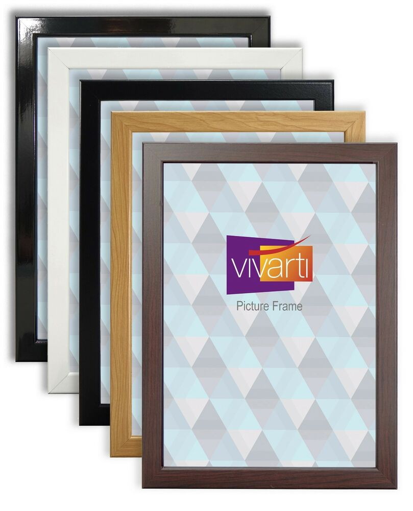 Amazoncom Silver Metallic Wood Frame  Brushed Steel