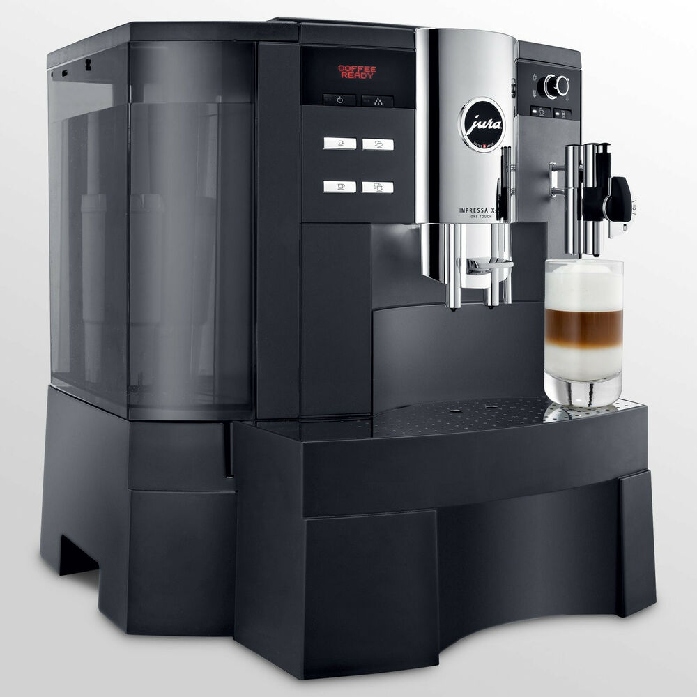 jura capresso xs90 one touch automatic coffee center professional machine ebay. Black Bedroom Furniture Sets. Home Design Ideas