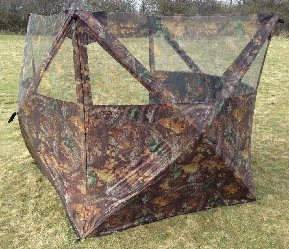 3 Sided Shooting Blind Camo Camouflage Hunting Hide Out