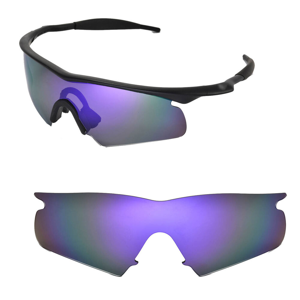 New Walleva Polarized Purple Rplacement Lenses For Oakley