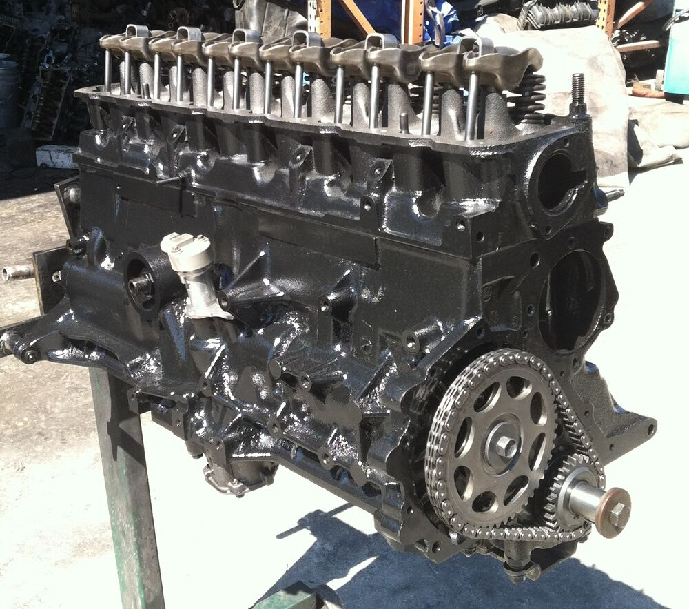 1999-06 WRANGLER JEEP TJ MOTOR GRAND CHEROKEE 4.0L ENGINE AMC REBUILT  WARRANTY | eBay