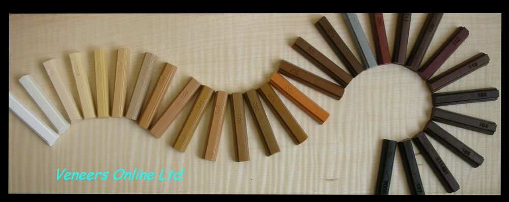 Veneers Online Softwax Or Hard Wax Stick Wood Furniture