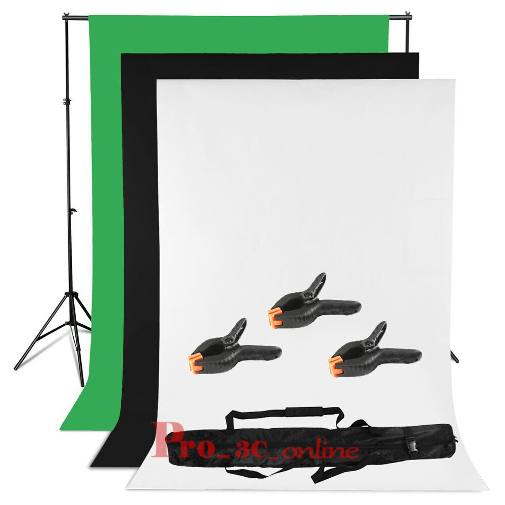 photo studio black white green backdrop chroma key screen. Black Bedroom Furniture Sets. Home Design Ideas